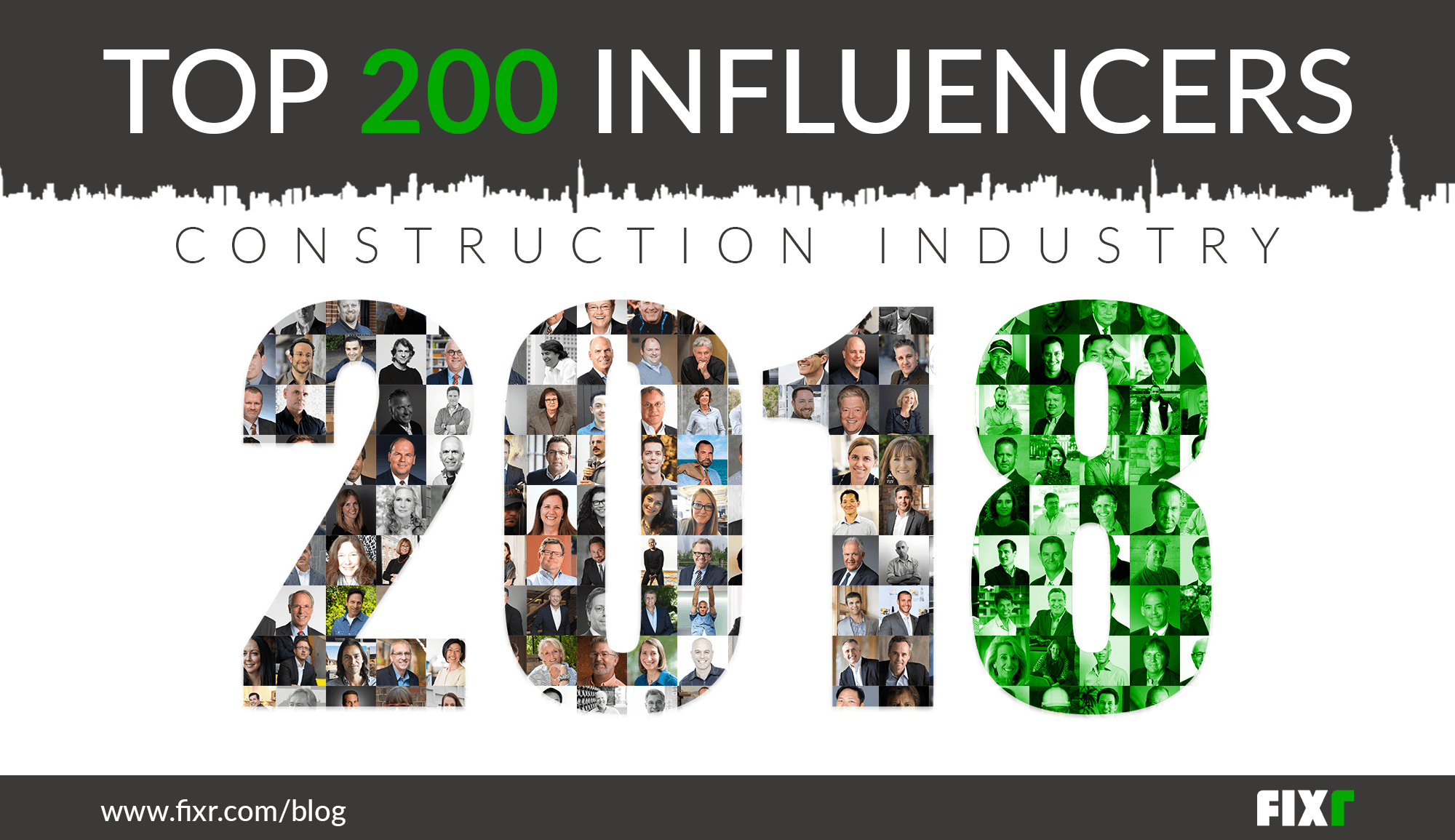 Top 200 Influencers in the Construction Industry 2018